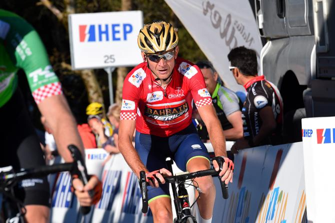 Kanstantsin Siutsou (Bahrain - Merida) finished 9th in stage 5 and kept his overall lead at Tour of Croatia