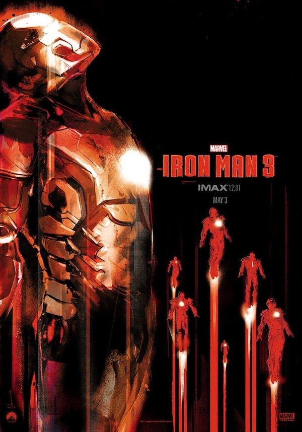 Iron Man Imax Mondo poster