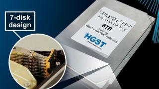 HGST 6TB hard disk drive