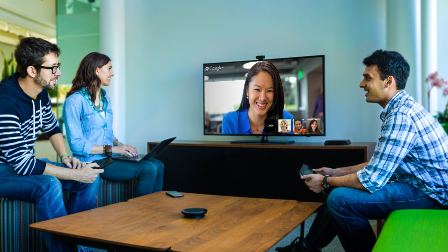 Google Chromebox for meetings makes Hangouts fit for