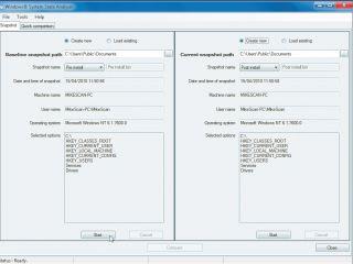 Microsoft System Analyzer Snapshot