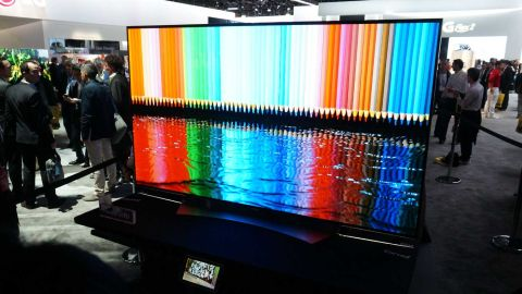 LG 77EG9900 4K Flexible OLED TV
