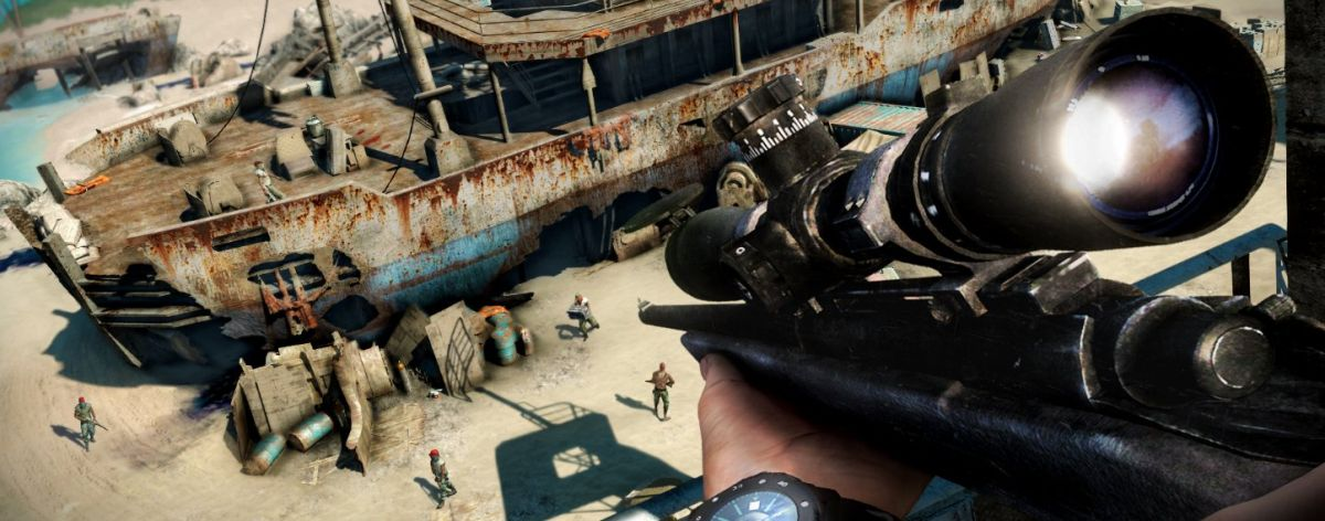 Far Cry 3 level editor detailed: hundreds of assets, waterfalls and