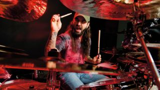 "Mike Portnoy: ""When I used to do the big drum solos I was completely flying from the seat of my pants each and every night."""