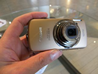 Canon s new touchscreen offering the IXUS 200 IS