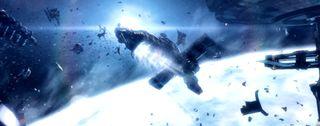 Dead Space 3 derelict