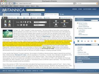 Encyclopedia Britannica now online only