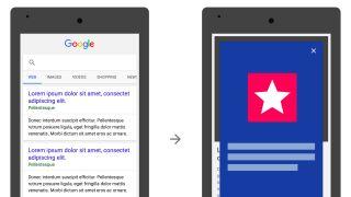 Google install app ad