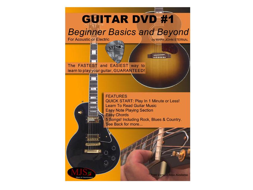 Mjs Music To Release Beginner Basics And Beyond Guitar Dvd Musicradar