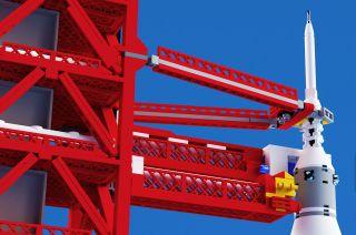 Saturn V Tower: Proposed Lego Set (1)