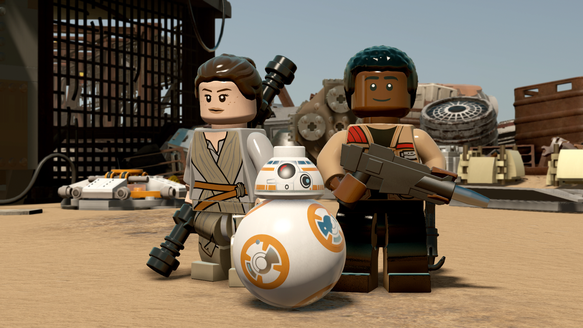 Lego Star Wars The Force Awakens Minikit Locations Guide Gamesradar