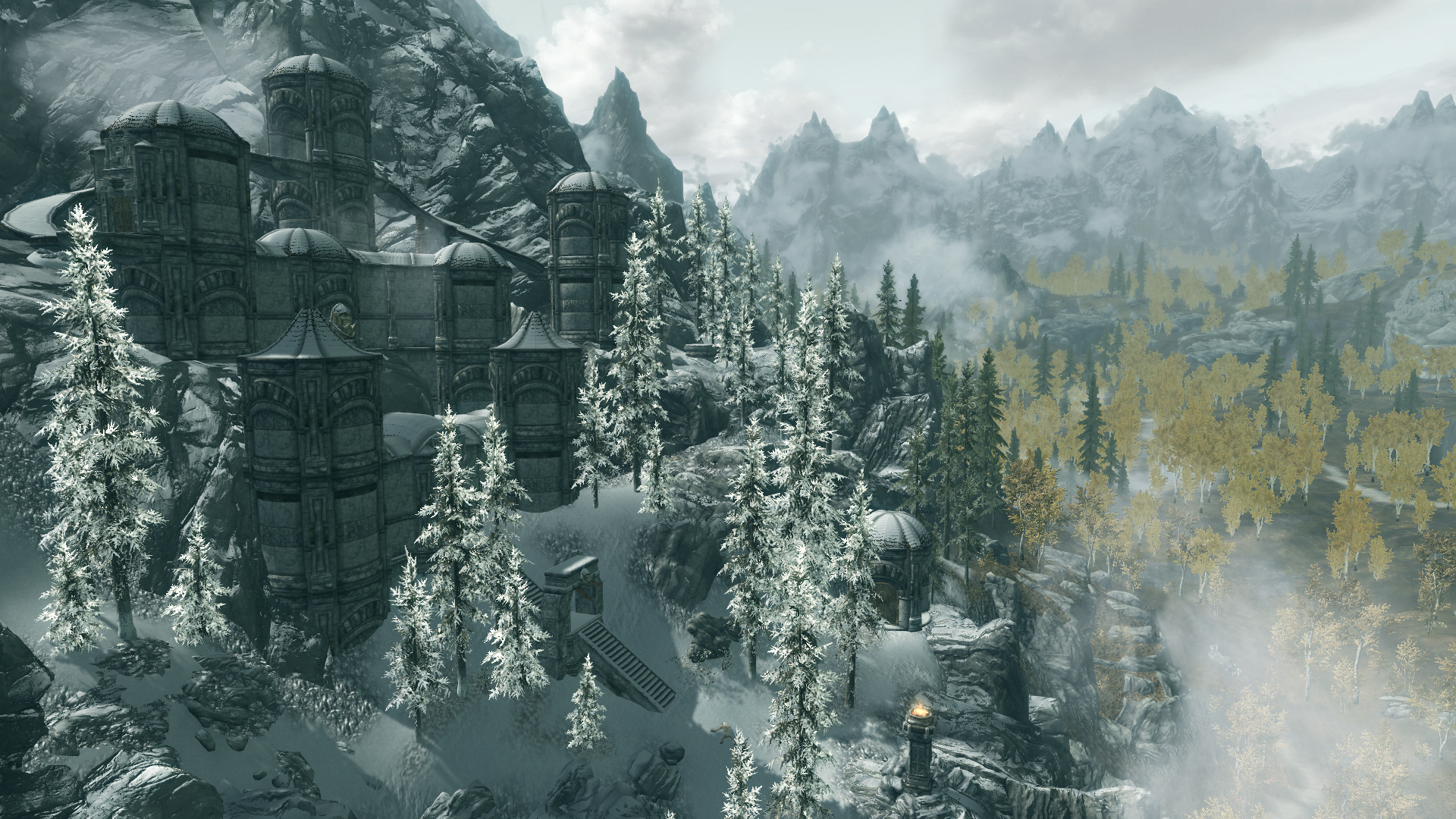 the best skyrim mods: moon and star
