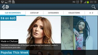 4oD s Android app is no longer an Inbetweener thanks to mobile streaming boost