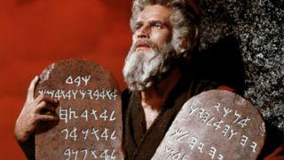Moses Tablet Ten Commandments
