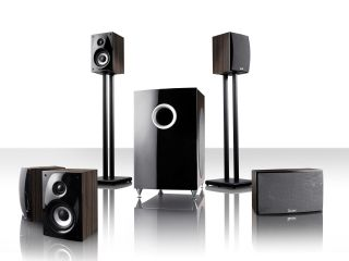 Teufel's Theatre 80 setup - set to make youe ears implode