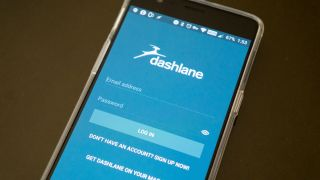 Dashlane for Android login