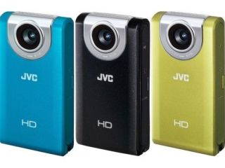 JVC's latest range of upright camcorders feature touchscreen control