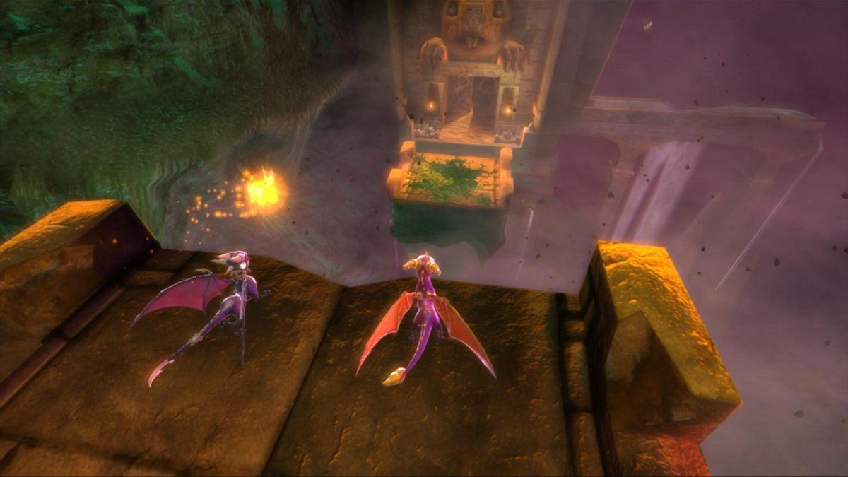 The Legend Of Spyro Dawn Of The Dragon Revealed Gamesradar