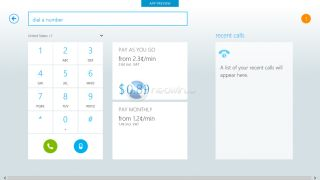 Leaked pictures show Skype for Windows 8