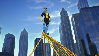 Steven Yeun voices Mark Grayson in Amazon Prime's Invincible adaptation