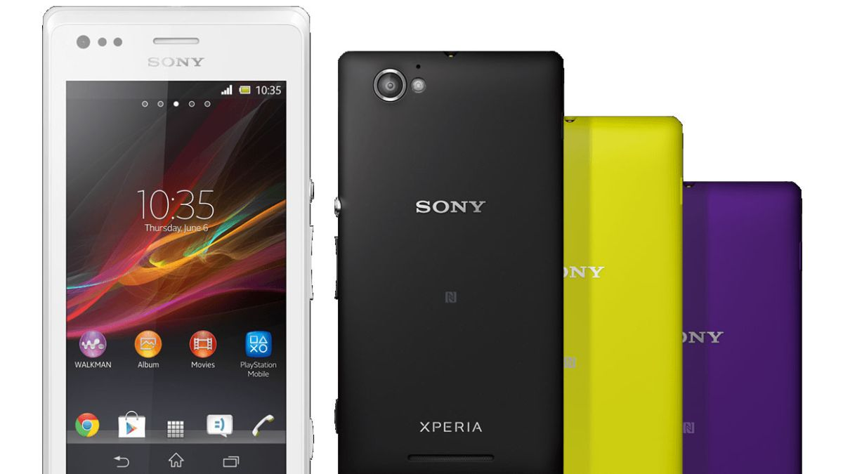 Sony Xperia M rocks up as fully-featured budget blower