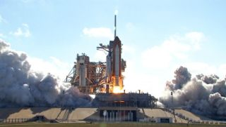 Shuttle Discovery Launches Space Station's Largest Lab
