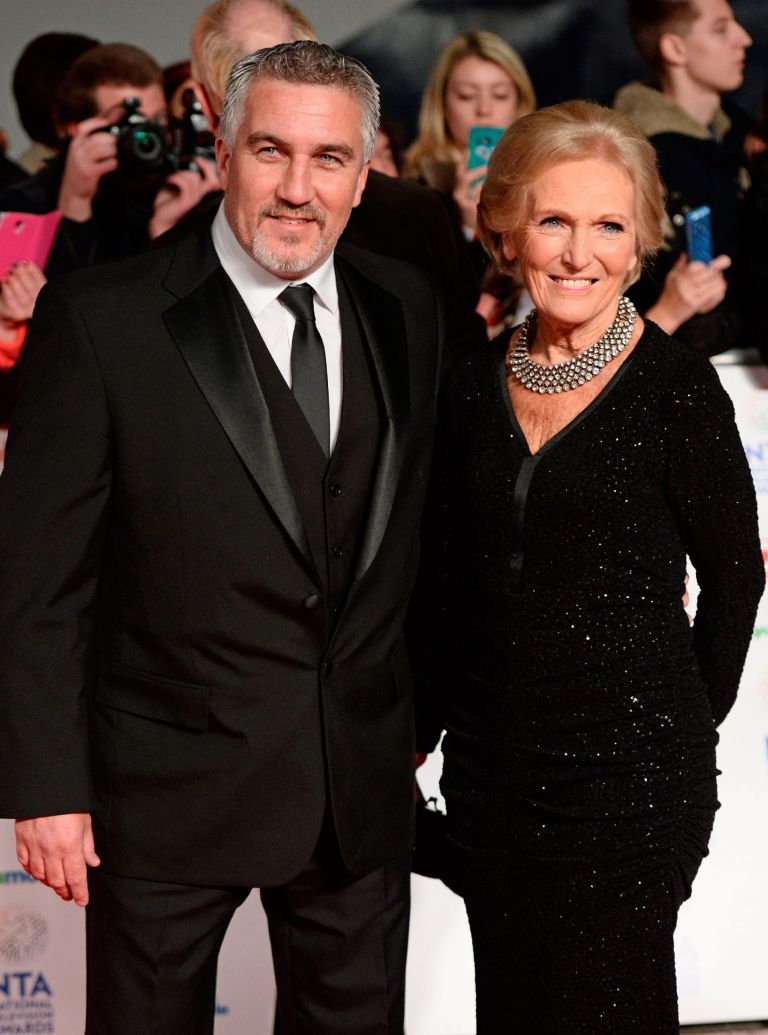 Mary Berry Paul Hollywood