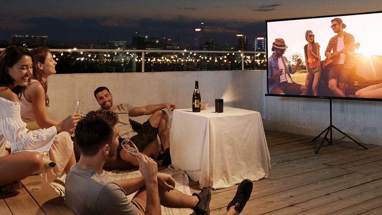 best outdoor projector: Anker Nebula Apollo Projector