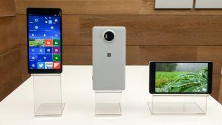Windows 10 Mobile Lumia phones