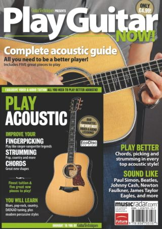 Guide to playing acoustic guitar on sale now | MusicRadar