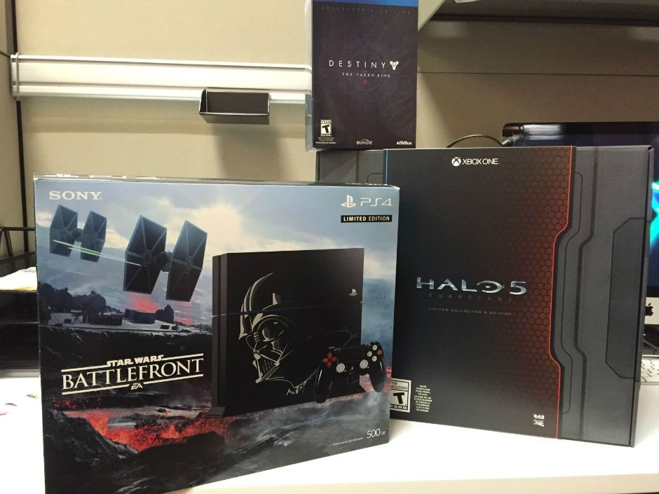 We're giving away a Star Wars PlayStation 4 and amazing limited edition games