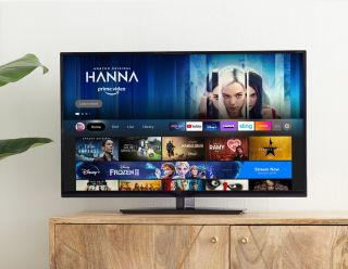 The new Amazon Fire TV user interface.