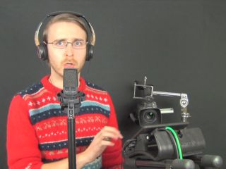 Last Christmas someone gave Brett that jumper