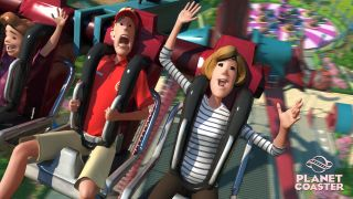 Planet Coaster scream
