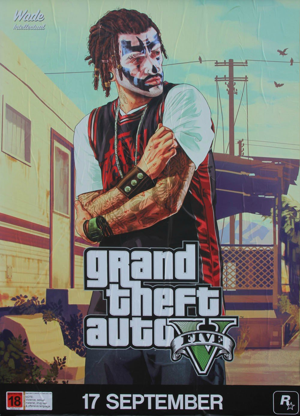 GTA 5 Posters Introduce New Characters #28781