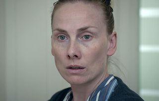 Holby City Jac Naylor (Rosie Marcel) mental hospital