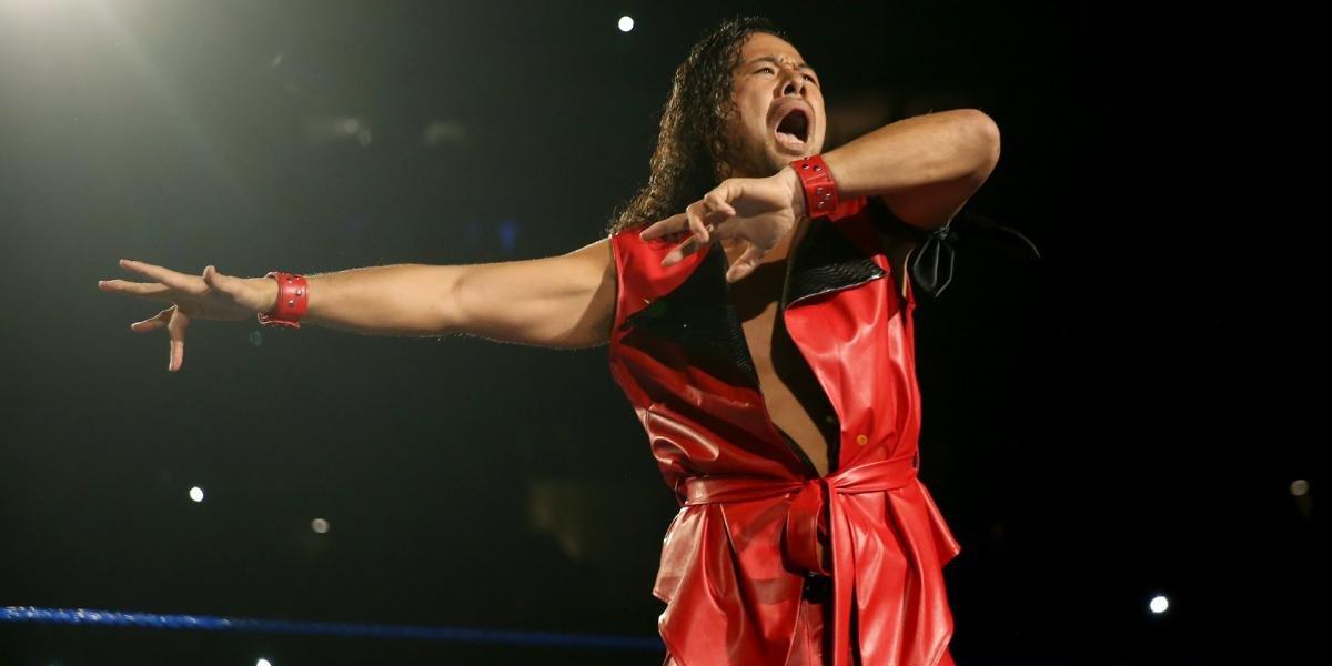 Shinksuke Nakamura on SmackDown
