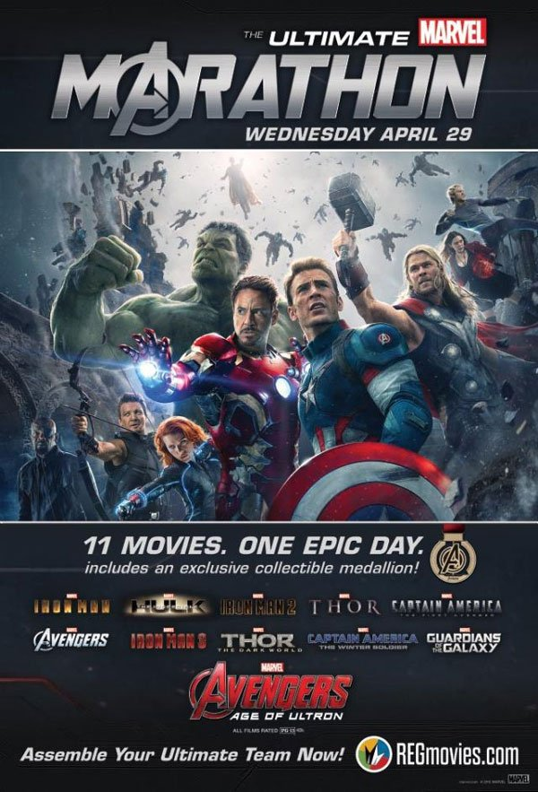 Regal Ultimate Marvel Marathon