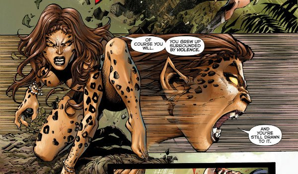 Cheetah Wonder Woman Barbara Minerva