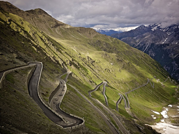Stelvio print, Rob Jefferies auction