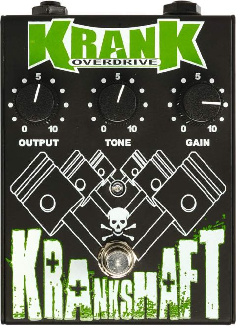 The Krankshaft blends funky looks with great tone