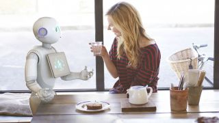 Meet Pepper the robot with a heart