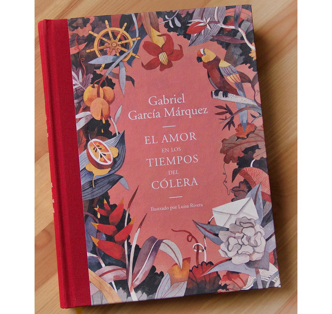 Marquez book cover design