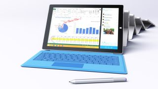 Surface Pro 3: good for more than just pie charts, we hope.