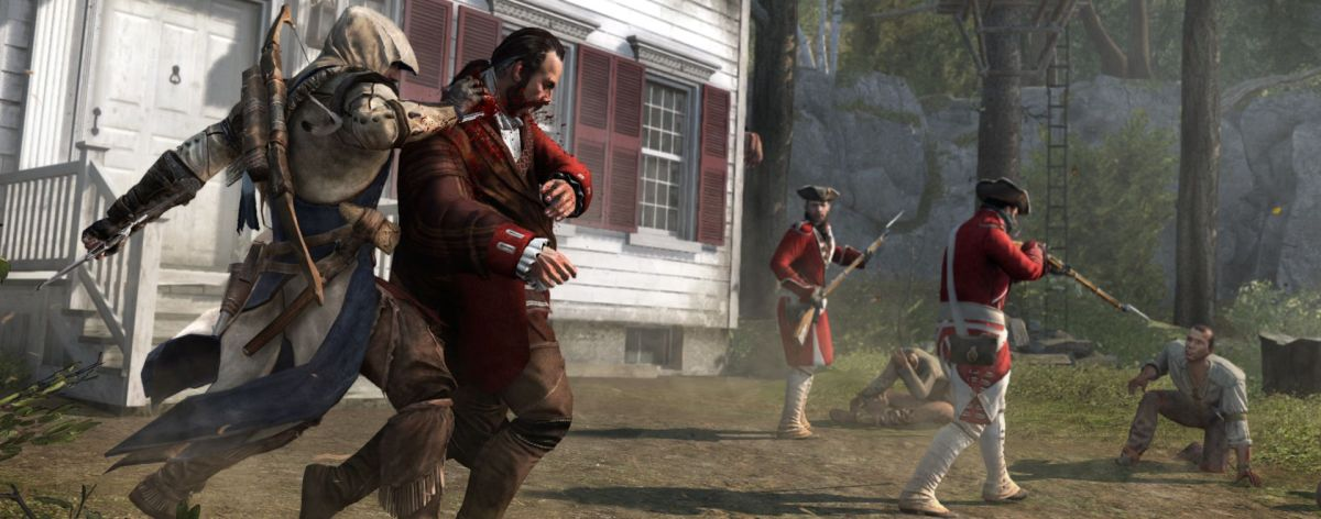 Assassin S Creed 3 Hands On Hunting Redcoats And Throwing Tea At