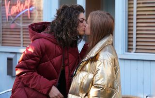 EastEnders Evie Steele and Tiffany Butcher