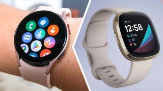 Samsung Galaxy Watch 4 vs Fitbit Sense