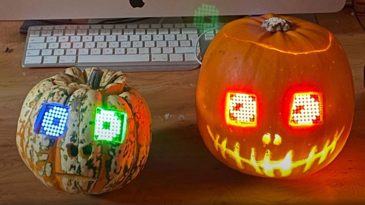 Photo of Raspberry Pi Pico Powered Pumpkin Is Positively Petrifying
