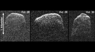 Composite Image of Asteroid 2007 PA8