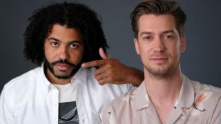 Daveed Diggs (left) and Rafael Casas
